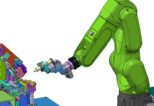 人と協力して働いてくれるロボット