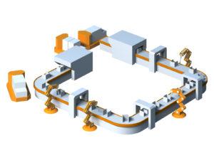 製造業の自動化スマートファクトリー